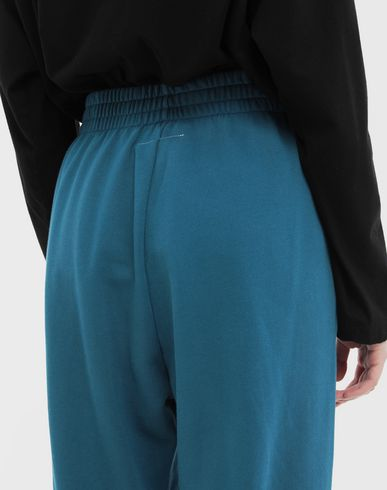 TROUSERS Cropped joggers Slate blue