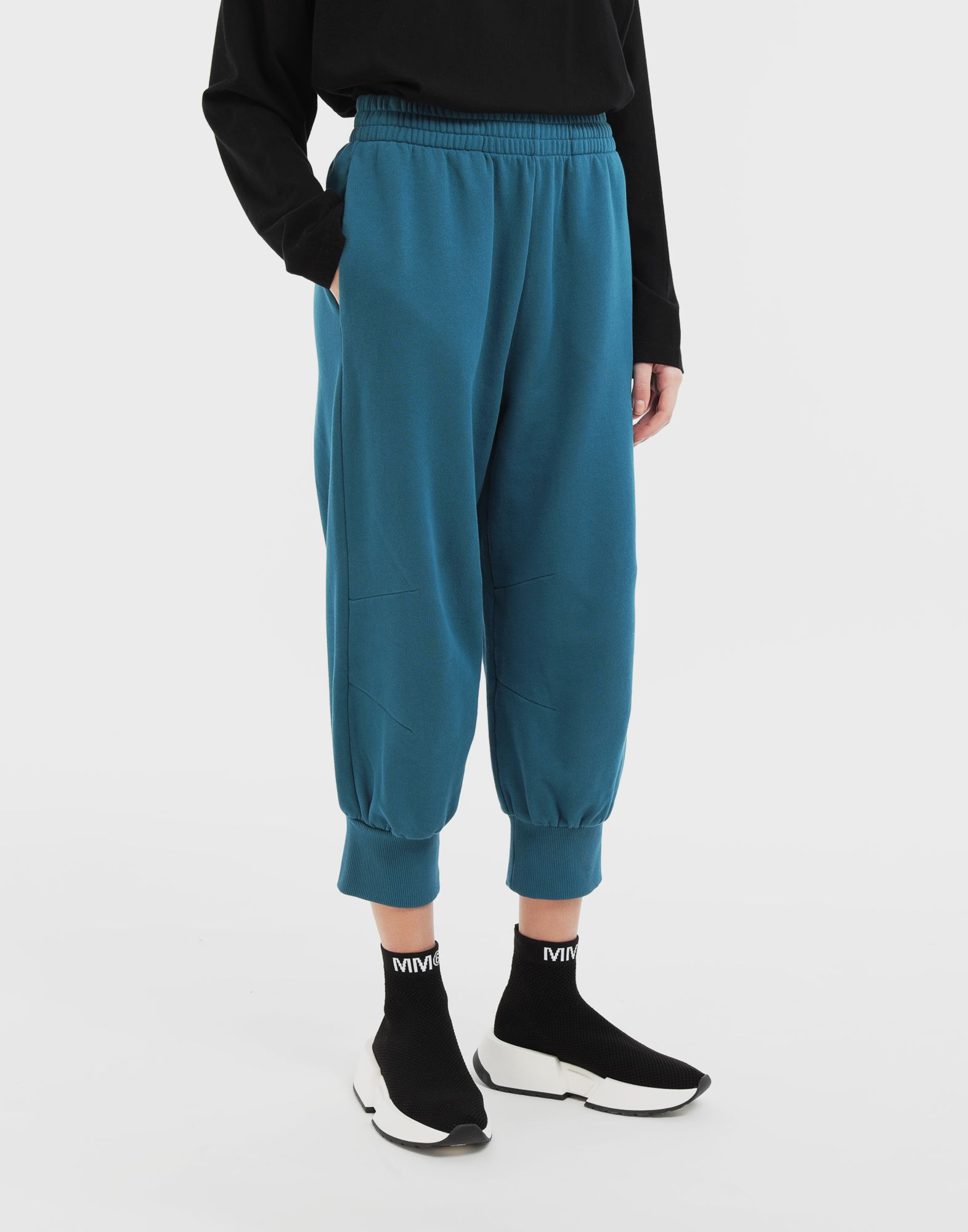 MM6 MAISON MARGIELA Cropped joggers Trousers Woman r
