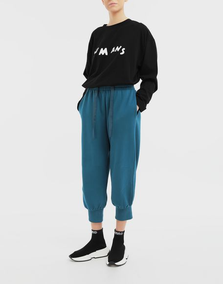 MM6 MAISON MARGIELA Cropped joggers Casual pants Woman d