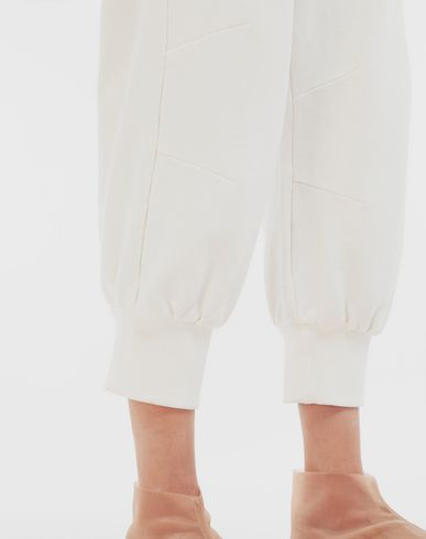 TROUSERS Cropped joggers White