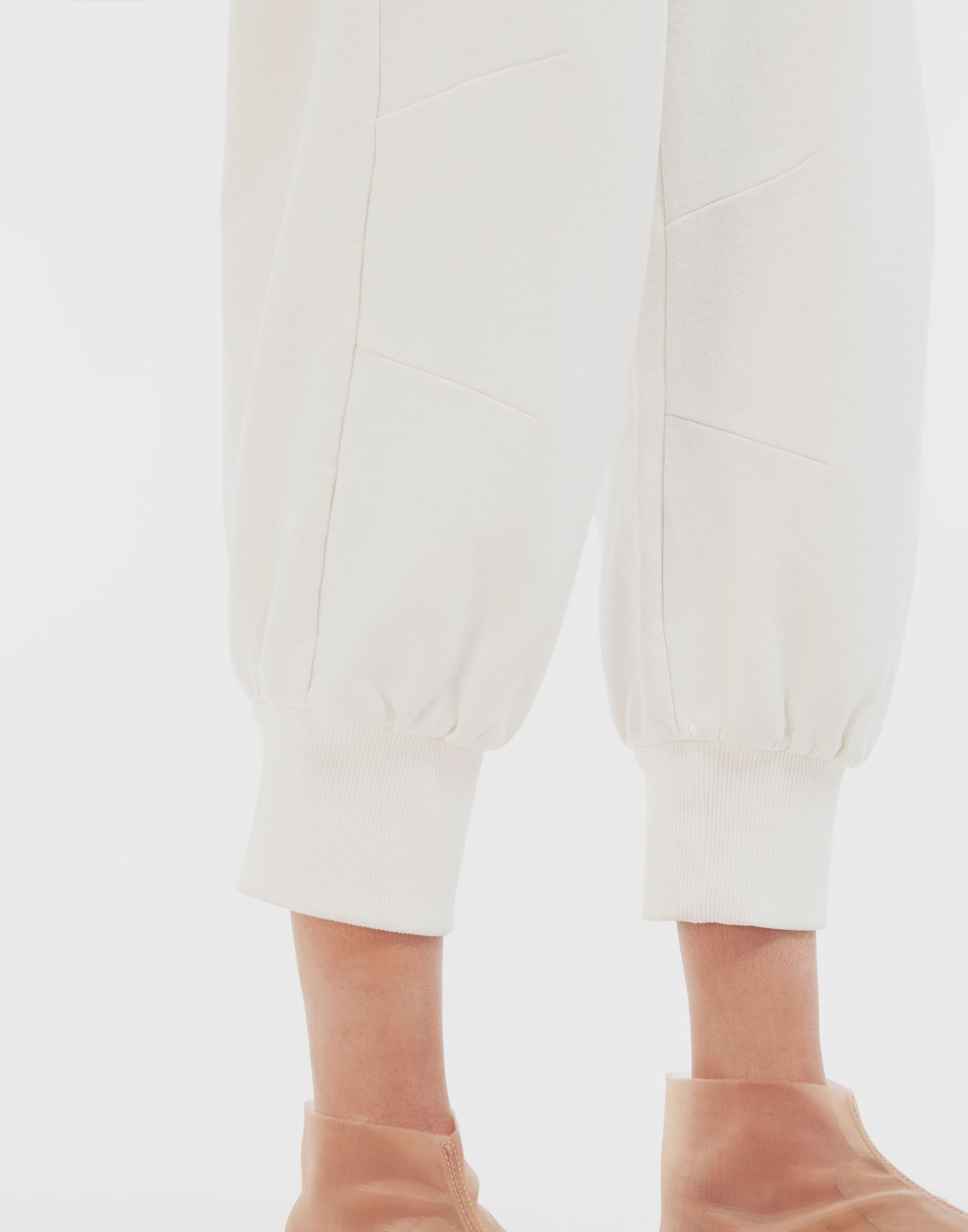MM6 MAISON MARGIELA Cropped joggers Trousers Woman a
