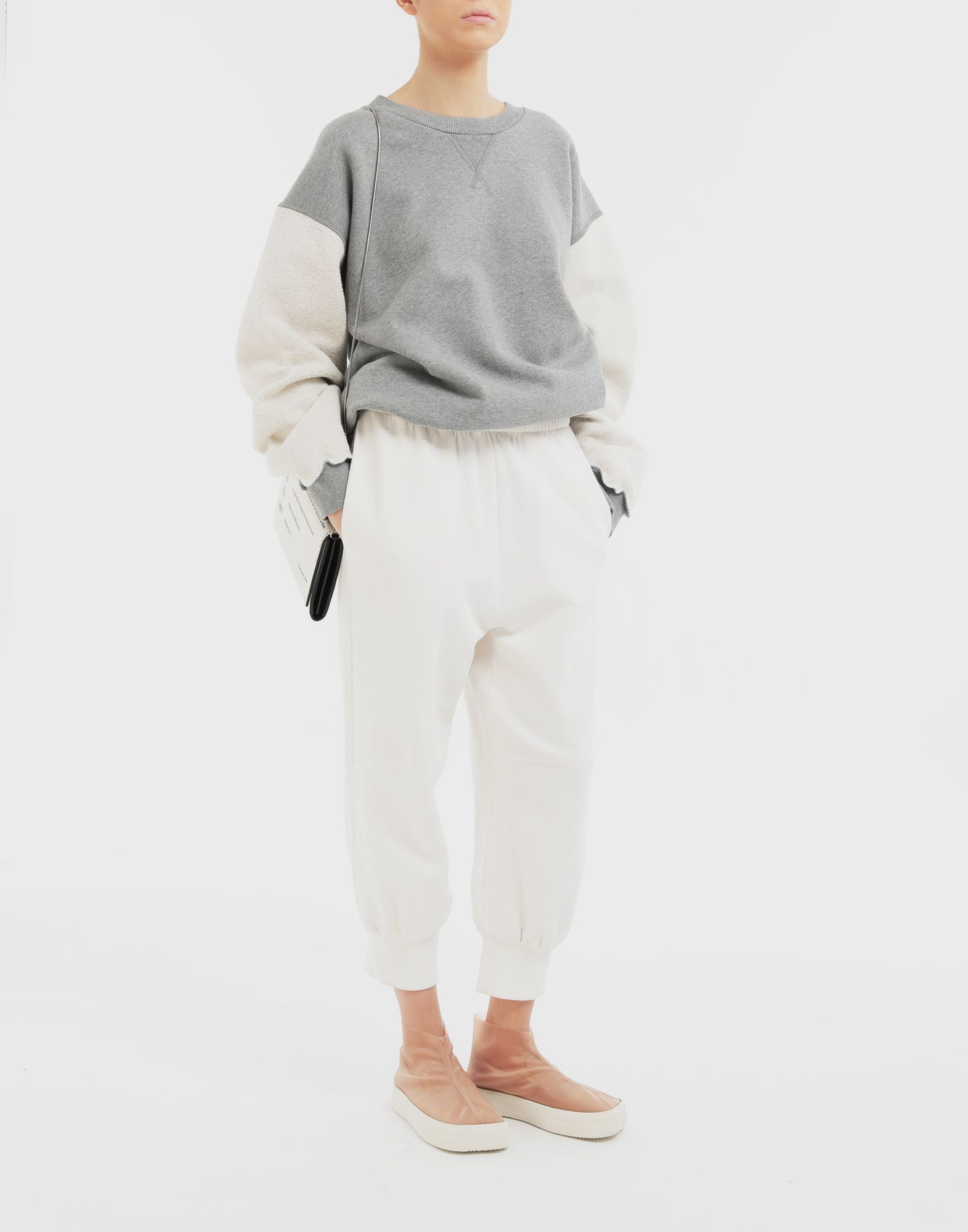 MM6 MAISON MARGIELA Cropped joggers Trousers Woman d