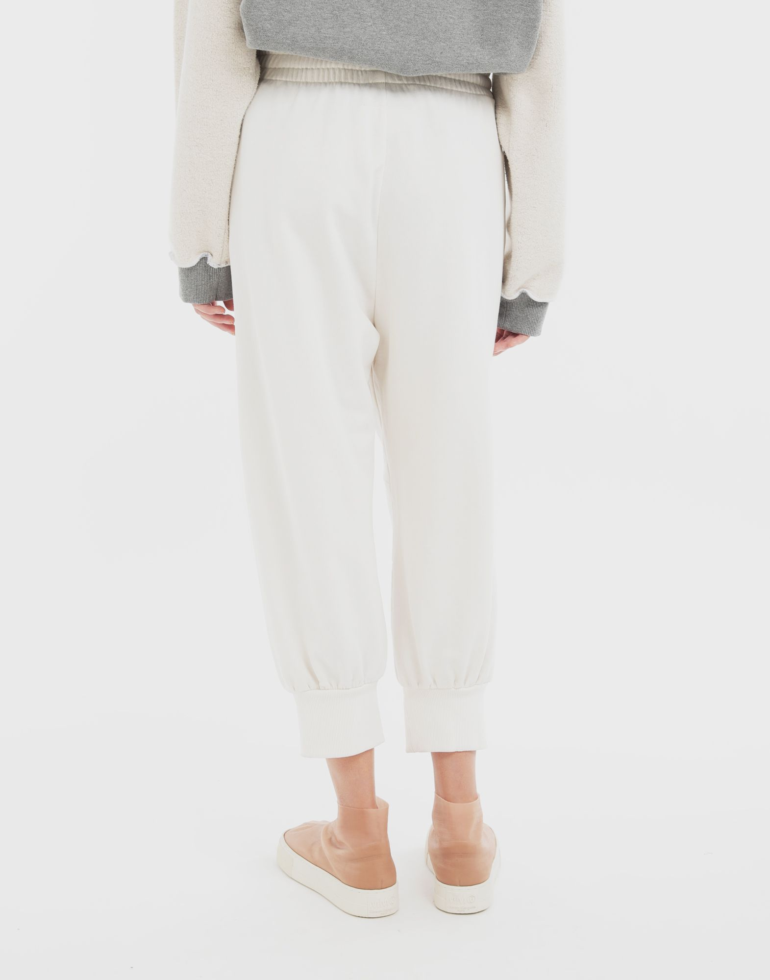 MM6 MAISON MARGIELA Cropped joggers Trousers Woman e
