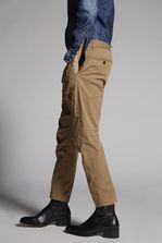 DSQUARED2 Cotton Sexy Cargo Pants Trousers Man