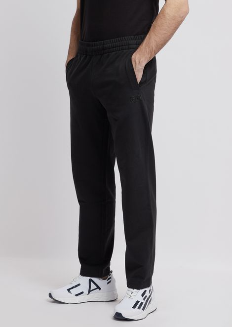 Pantaloni joggers in cotone baby french terry Train Core