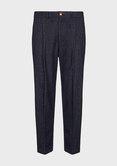 Slim-fit jeans in 10oz Japanese denim