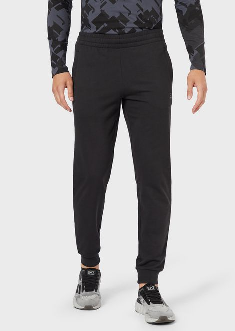 EMPORIO ARMANI Fleece Trousers Man f