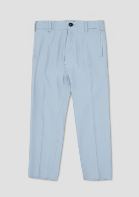 Pantalones de lino puro