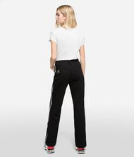KARL LAGERFELD Sporty Logo Denim Pants Woman e