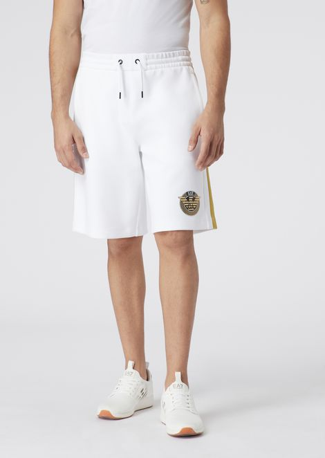 Train Soc shorts in stretch fabric