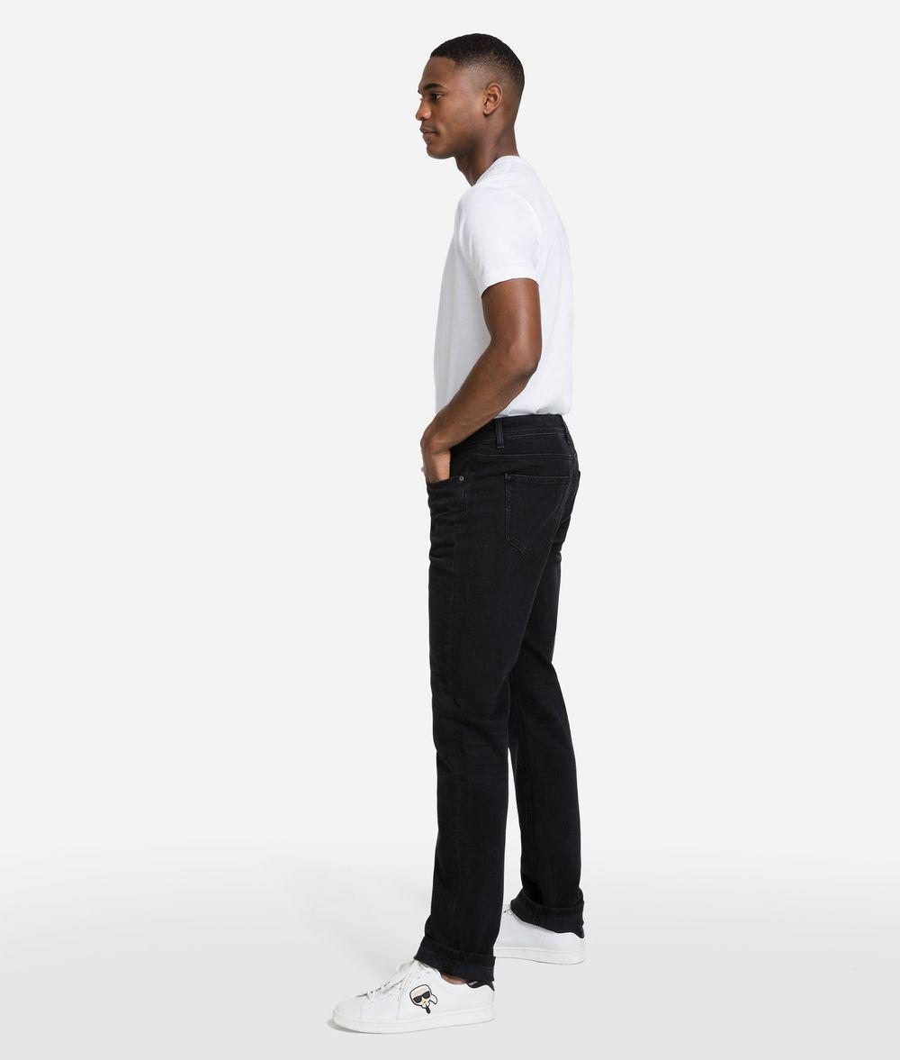 KARL LAGERFELD Regular Fit Denim Pants Man d