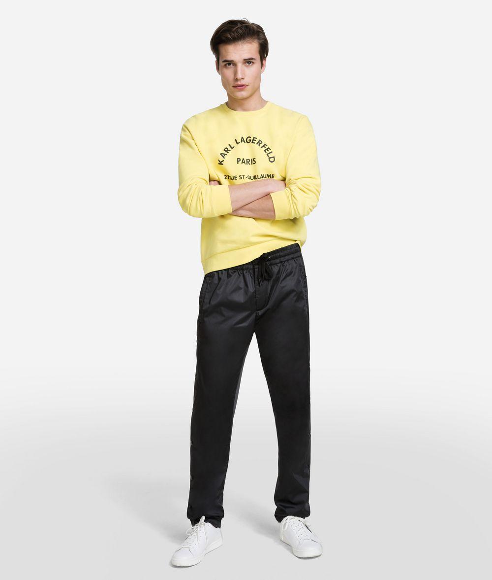 KARL LAGERFELD Nylon Snap Pants Pants Man f
