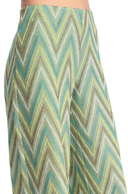 M MISSONI Trouser Acid green Woman - Front