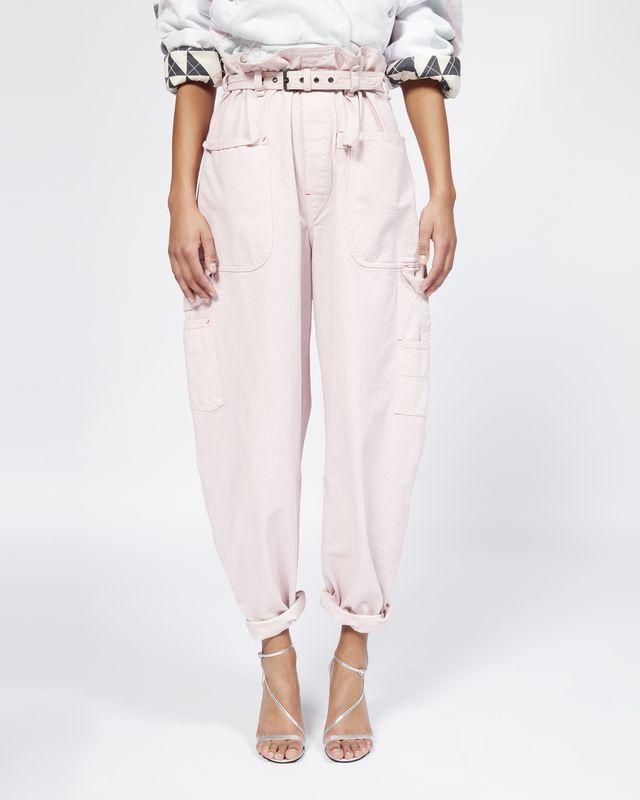 Pantalons PalazzoEn Store Isabel CuirE Femme Marant Officiel jL3Rq45A