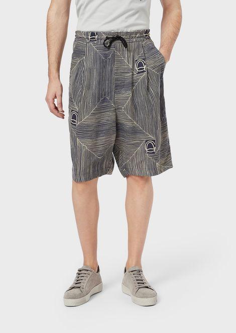 GIORGIO ARMANI Bermuda Shorts Man f