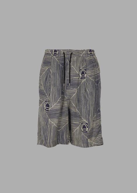 GIORGIO ARMANI Bermuda Shorts Man r