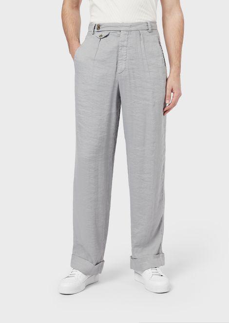 GIORGIO ARMANI Trousers Man f