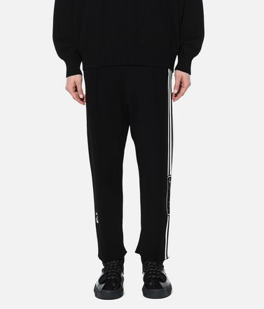 Y-3 Casual trouser Woman Y-3 Tech Knit Wide Pants r