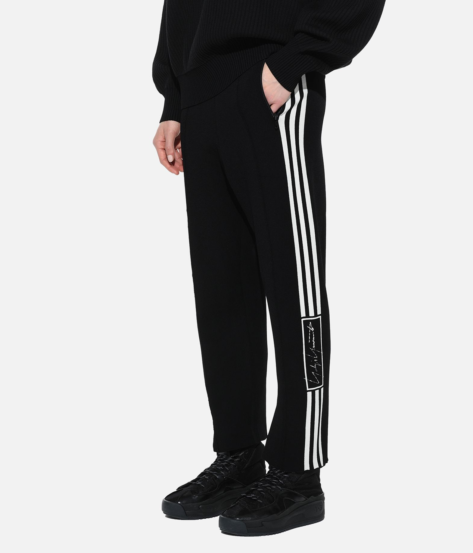 Y-3 Y-3 Tech Knit Wide Pants パンツ レディース e