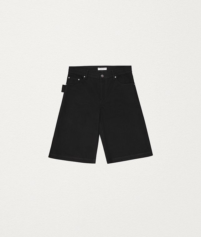 BOTTEGA VENETA SHORTS IN COTTON Pants and Shorts Man fp