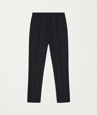 TROUSERS IN WOOL FLANNEL