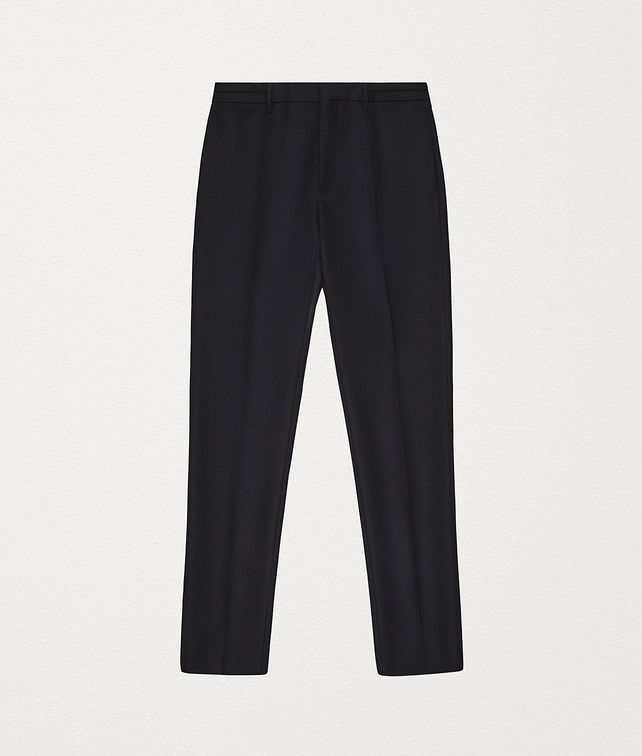BOTTEGA VENETA TROUSERS IN WOOL FLANNEL Trousers and Shorts Man fp