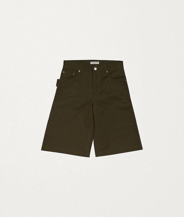 BOTTEGA VENETA SHORTS IN COTTON Trousers and Shorts Man fp