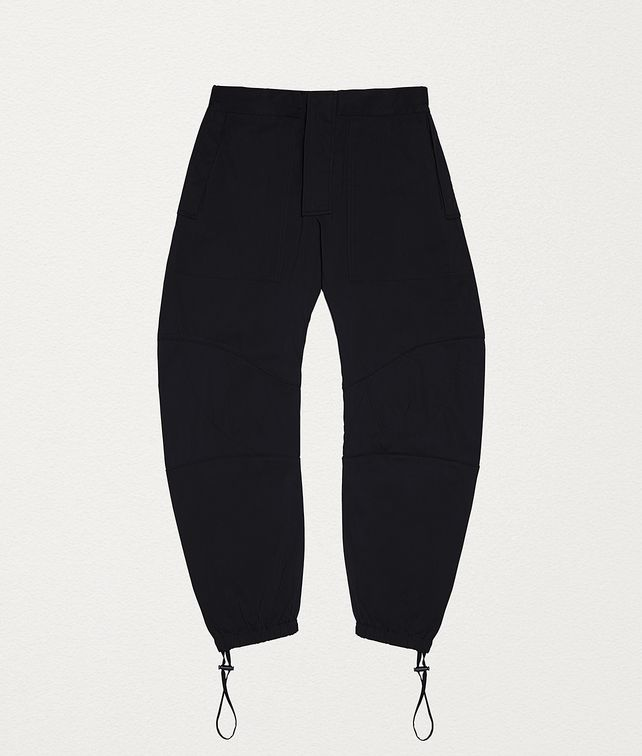 BOTTEGA VENETA TROUSERS IN TECHNICAL COTTON Trousers and Shorts Man fp
