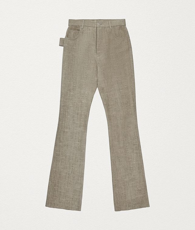 BOTTEGA VENETA TROUSERS IN LINEN Trousers and Shorts [*** pickupInStoreShipping_info ***] fp