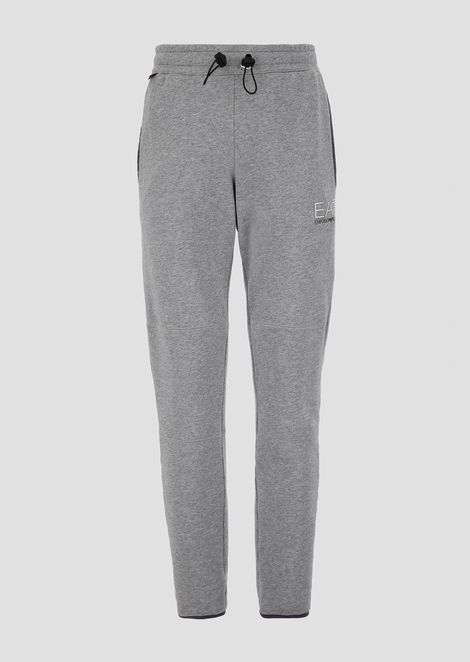 Train City Explorer jogging trousers in baby French terry cotton
