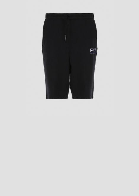 Shorts Natural Ventus7 in cotone e poly