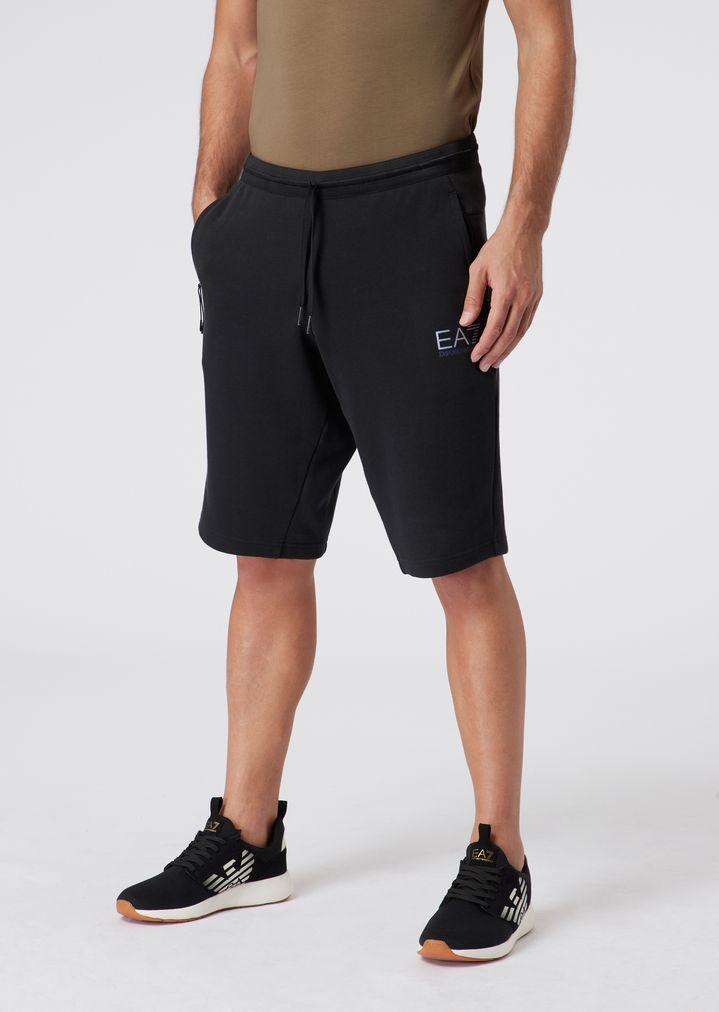 7b612f0fac Natural Ventus7 shorts in cotton and polyester