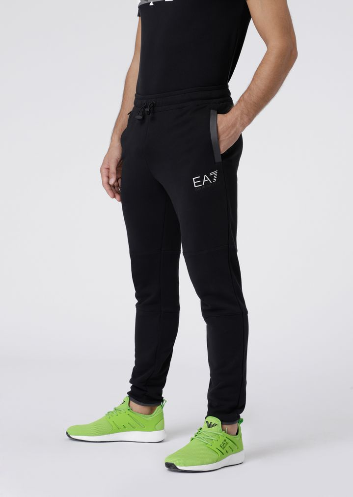 cfd991a2f5 Train City Explorer jogging trousers in baby French terry cotton