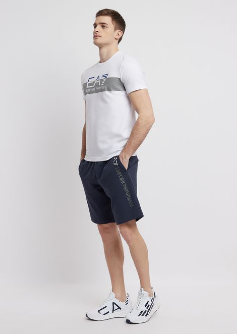 Train Core shorts in cotton baby French terry