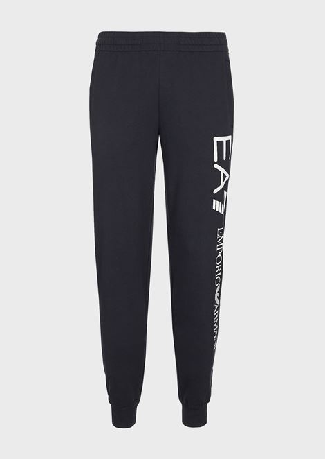Train Logo jogging trousers in baby French terry cotton