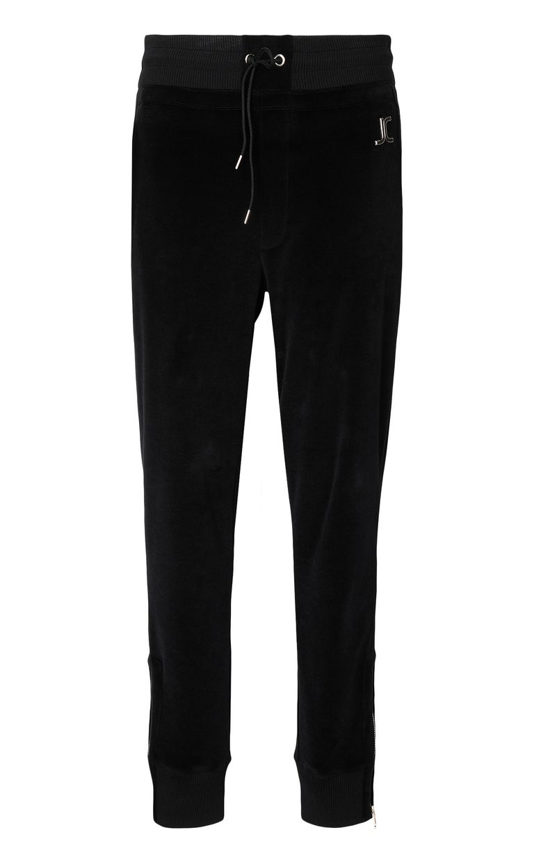 JUST CAVALLI Track trousers with designer logo Casual pants Woman f