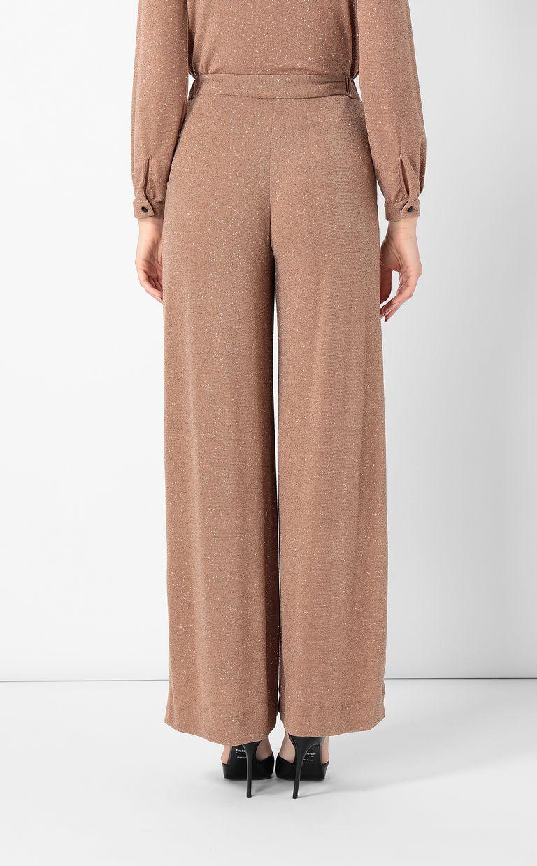 JUST CAVALLI Elegant lurex trousers Casual pants Woman a
