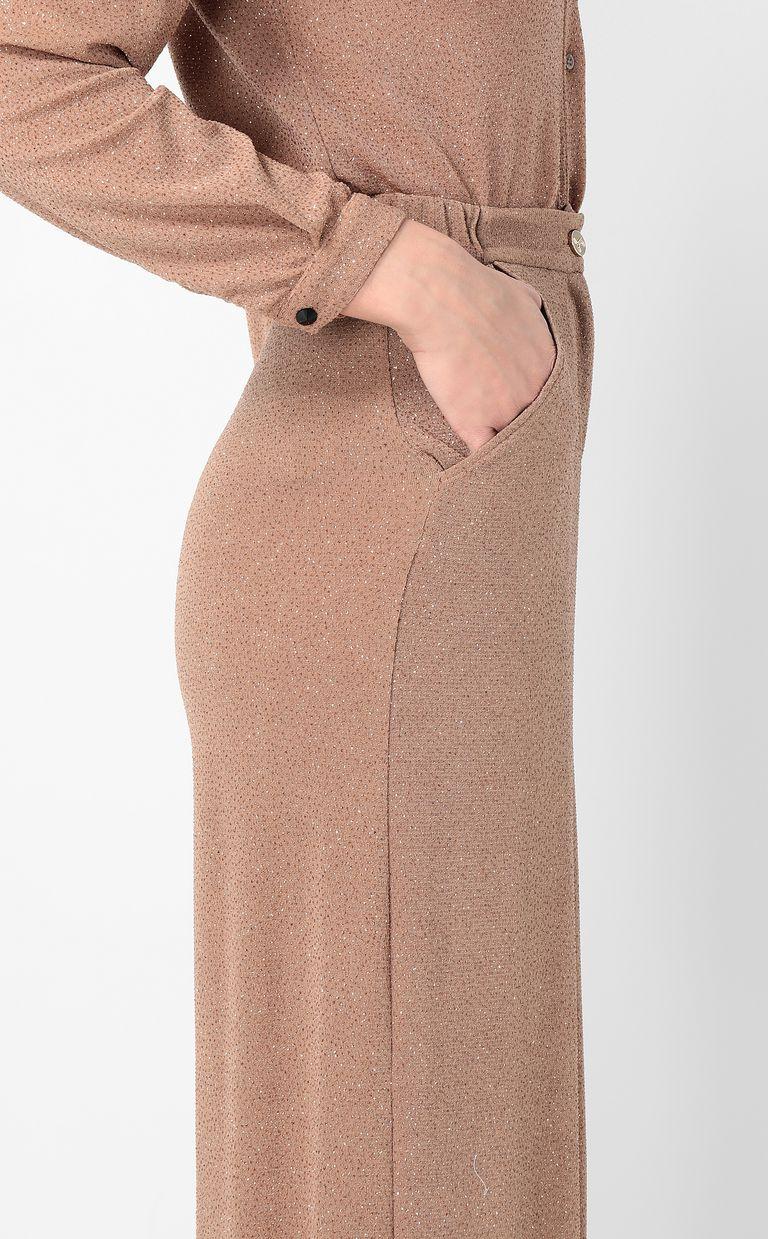 JUST CAVALLI Elegant lurex trousers Casual pants Woman e