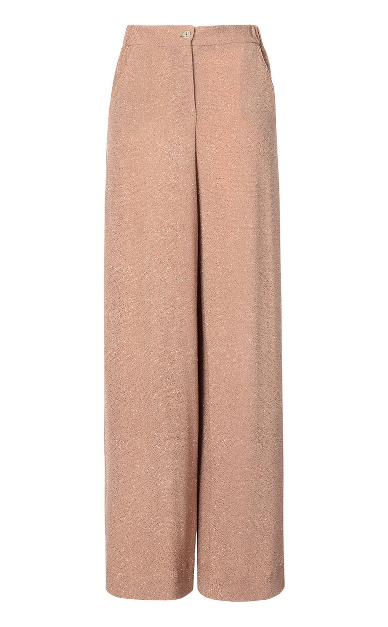 JUST CAVALLI Elegant lurex trousers Casual pants Woman f