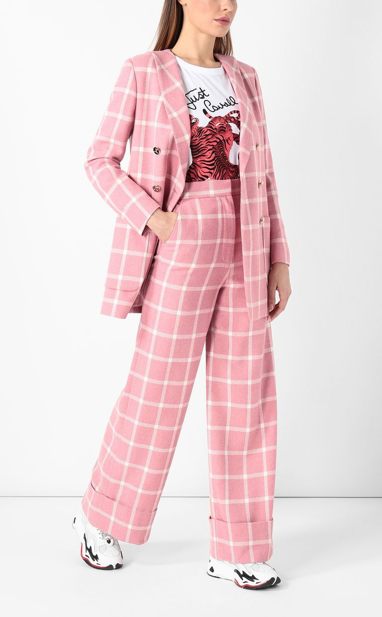 JUST CAVALLI Pantalone tartan Pantalone Donna d