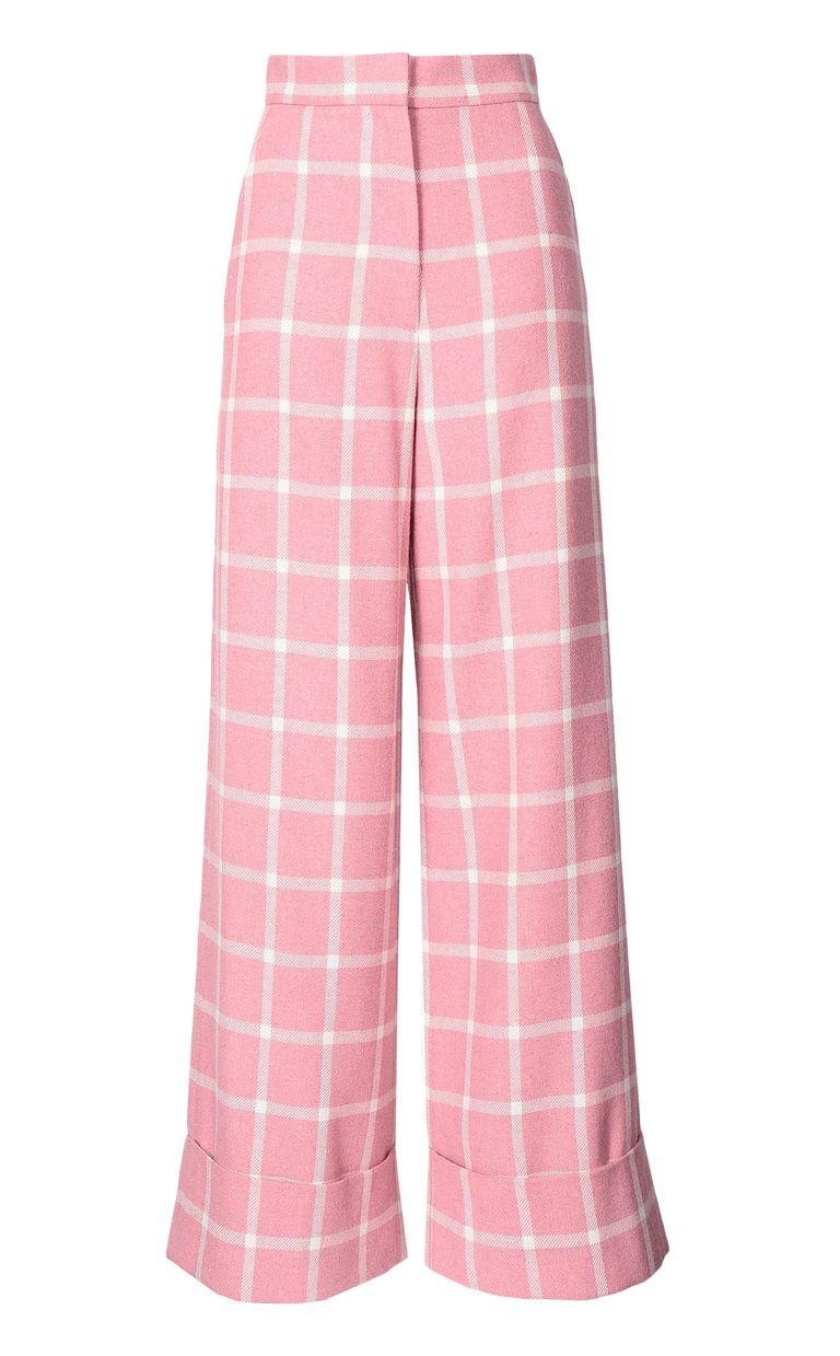 JUST CAVALLI Pantalone tartan Pantalone Donna f