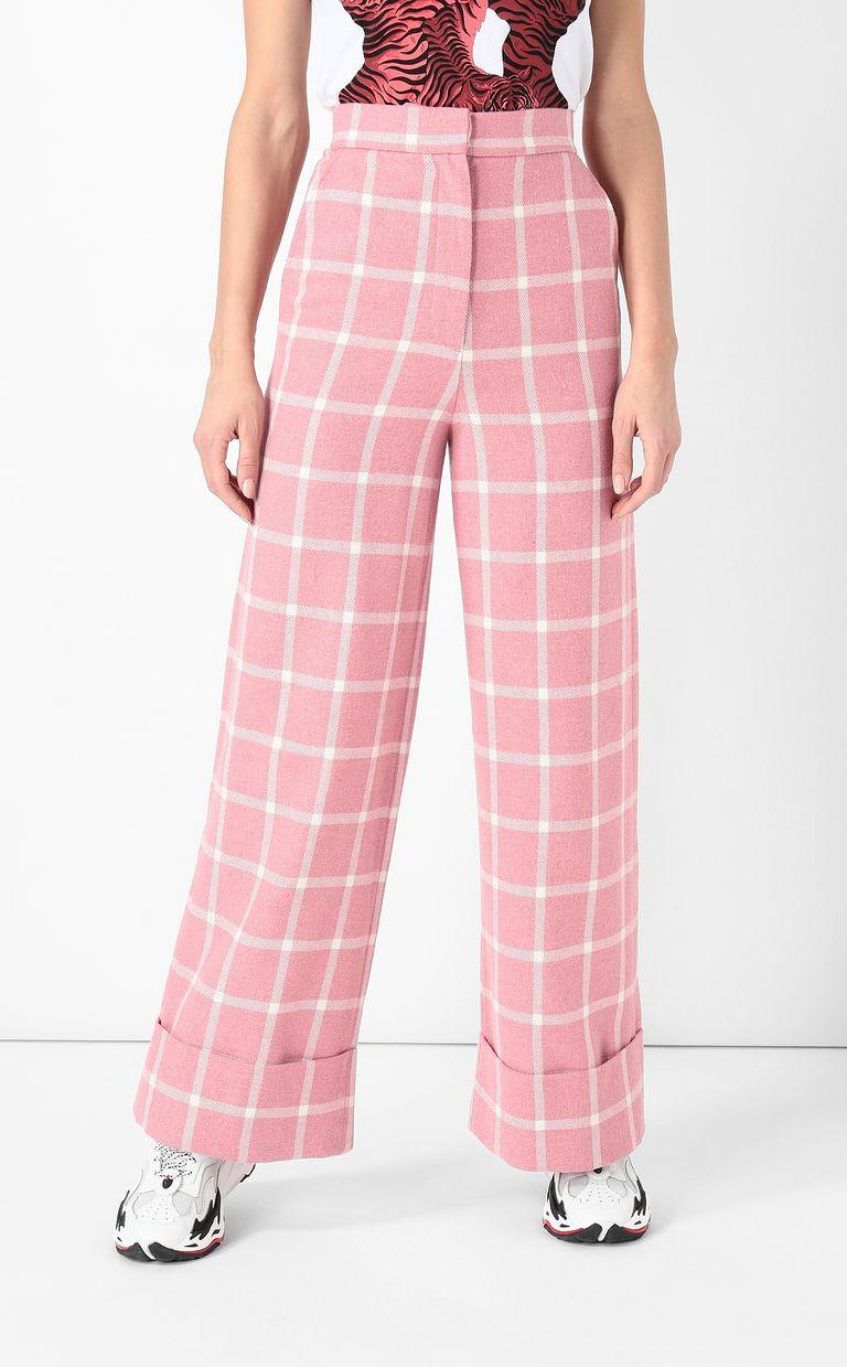 JUST CAVALLI Pantalone tartan Pantalone Donna r