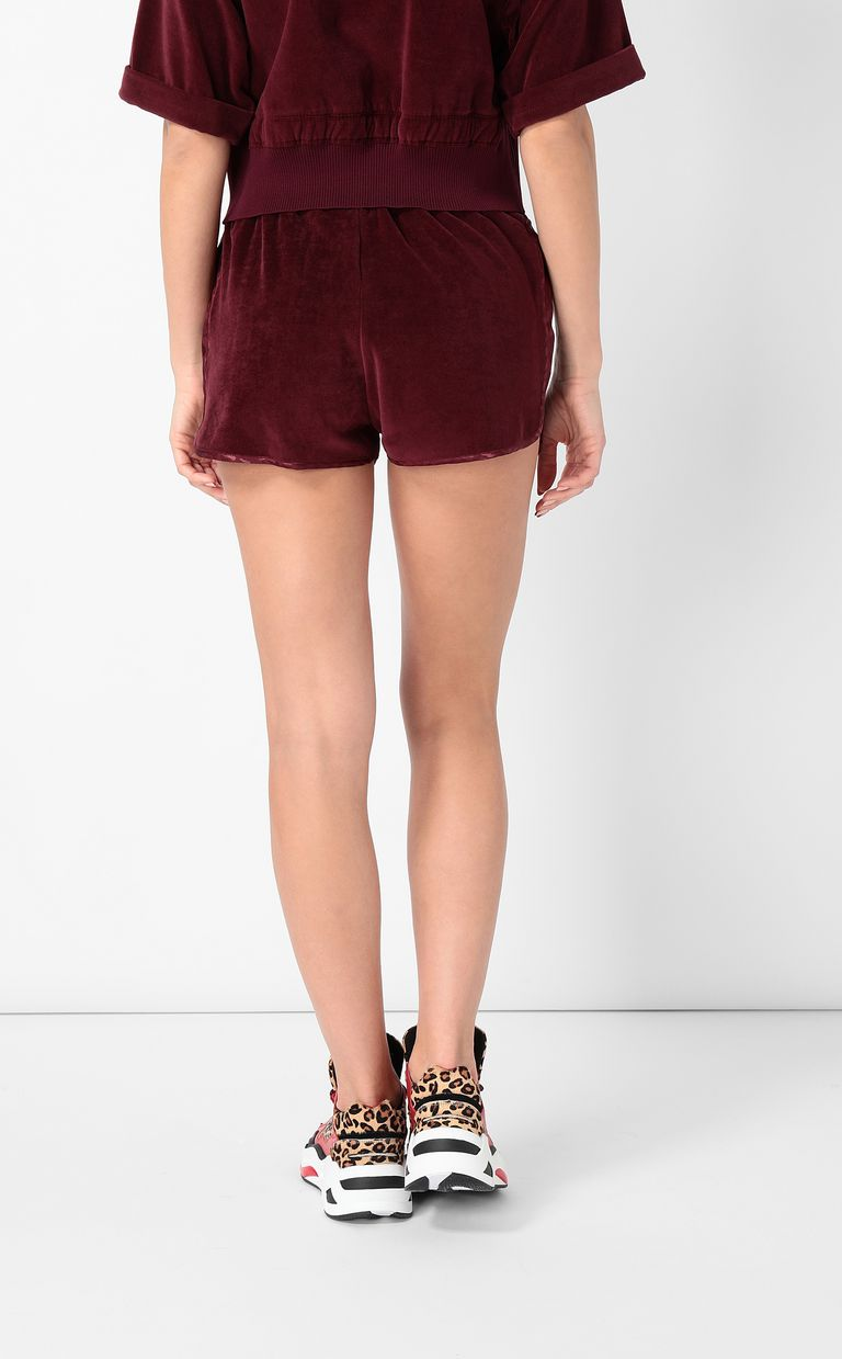 JUST CAVALLI Velours shorts Shorts Woman a