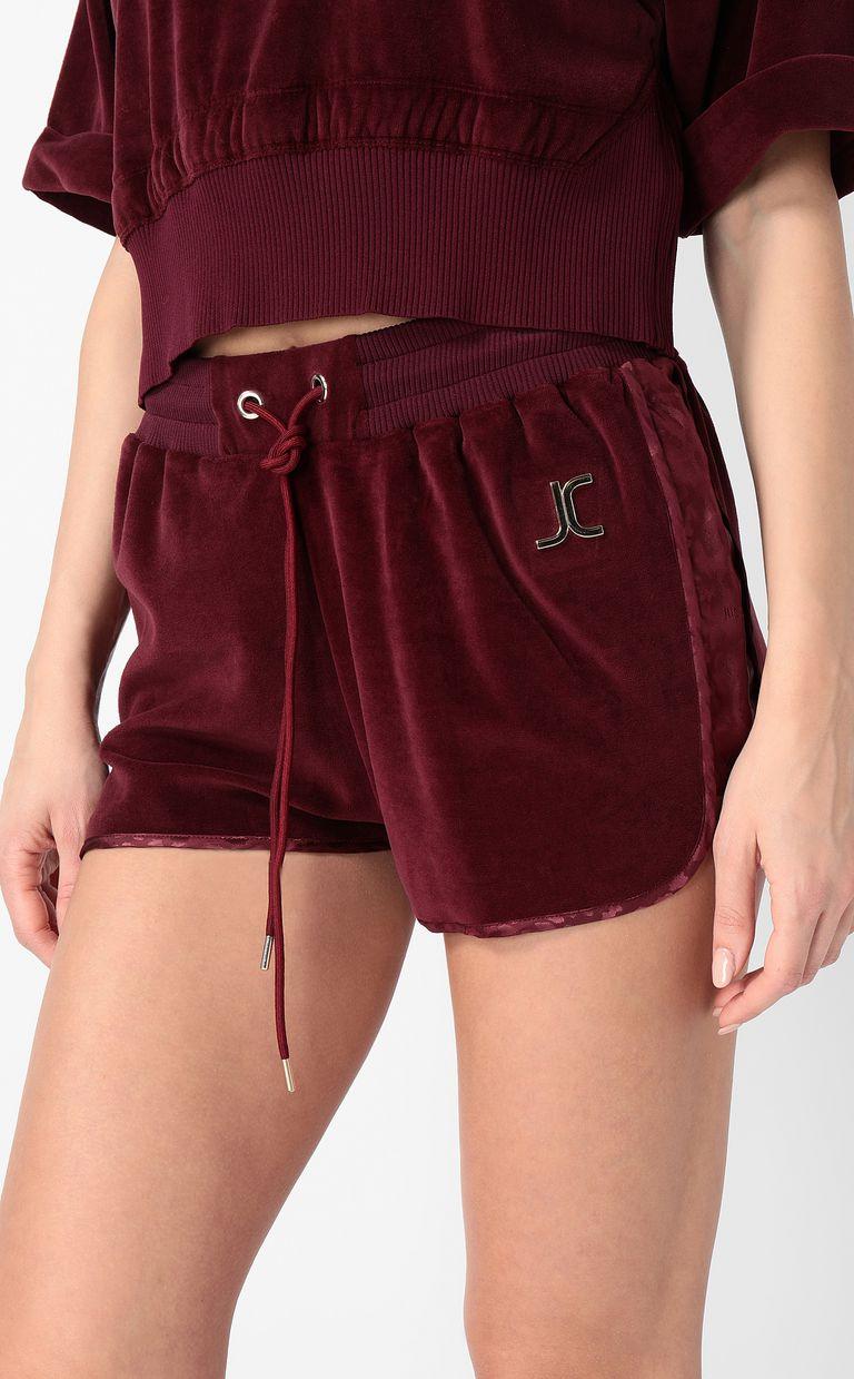 JUST CAVALLI Velours shorts Shorts Woman e