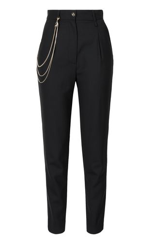 JUST CAVALLI Casual pants Woman Elegant trousers with chain detail f