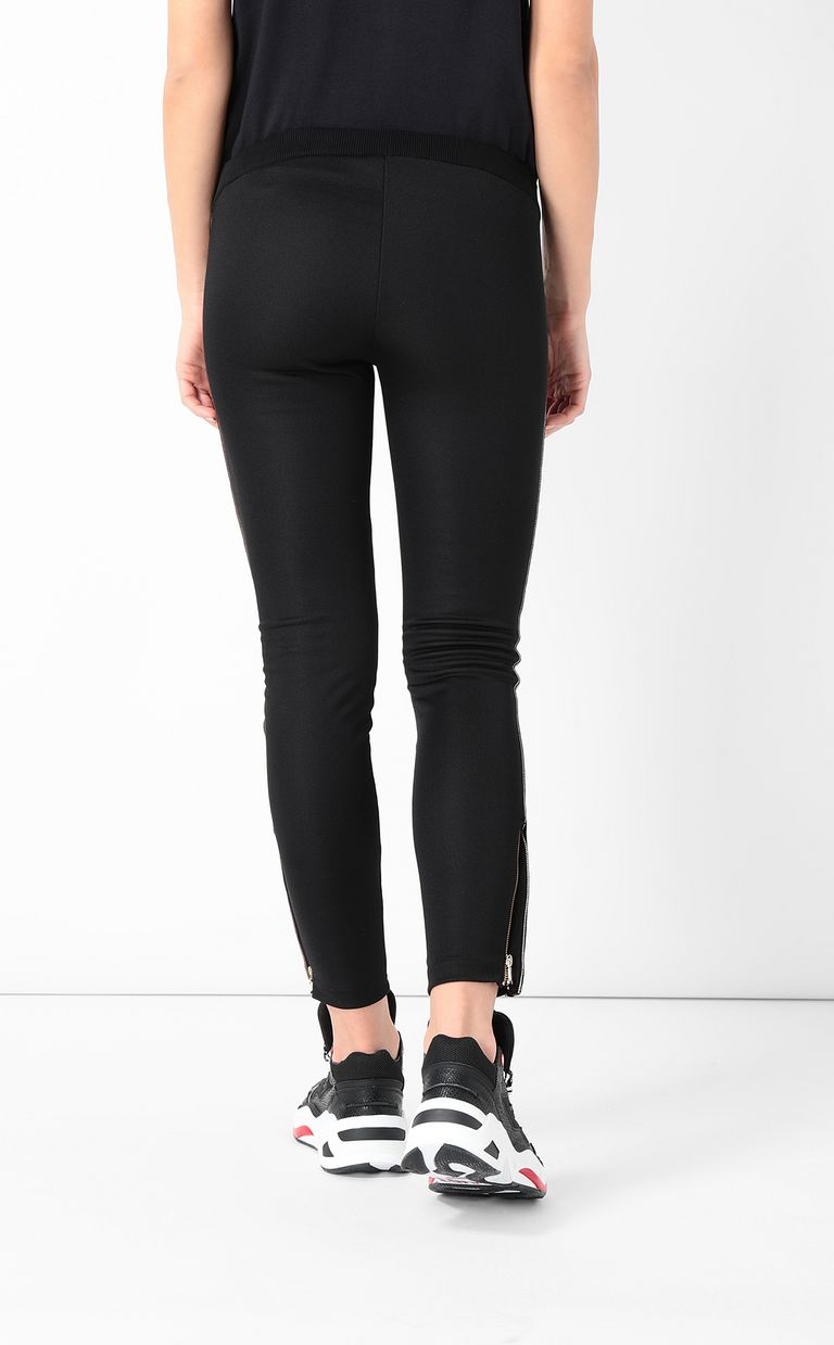 JUST CAVALLI Track trousers with designer logo Casual pants Woman a