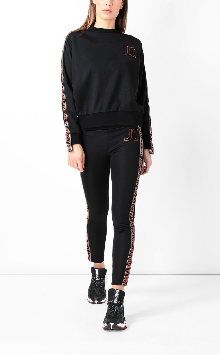 JUST CAVALLI Track trousers with designer logo Casual pants Woman d