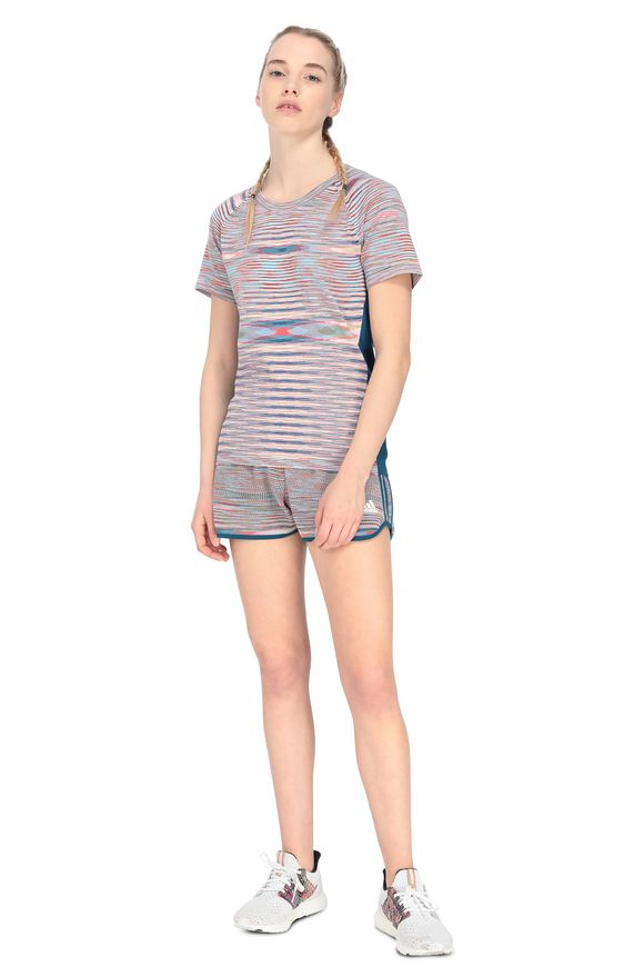 MISSONI ADIDAS X MISSONI SHORTS Blue Woman
