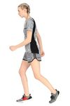 MISSONI ADIDAS X MISSONI SHORTS Woman, Rear view