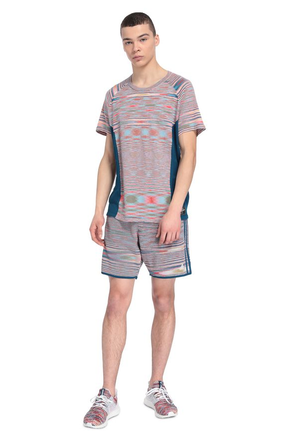 MISSONI ADIDAS X MISSONI SHORTS Man, Frontal view